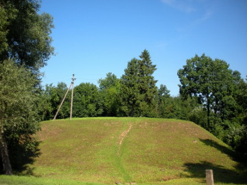 Stasaiciai hillfort at the river Lankesa